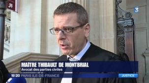 """France 3: """" Ivre et sans permis, il avait tué deux policiers: le procès d'un chauffard s'ouvre aux assises de Paris"""""""