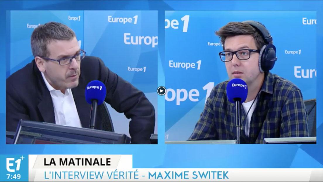 """Europe 1 – Attentats en Europe: """"Vivre avec, c'est savoir s'adapter"""""""