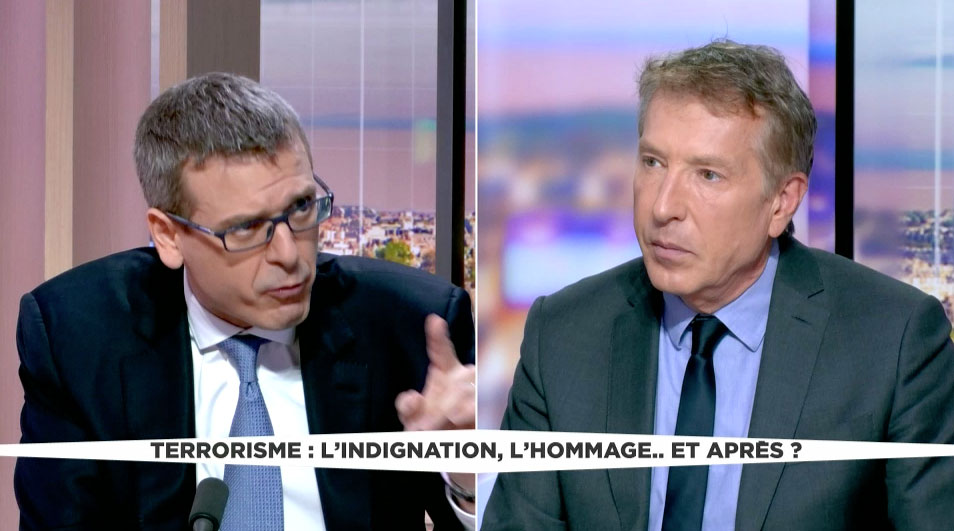 """LCI: """"Terrorisme: l'indignation, l'hommage… et après?"""""""