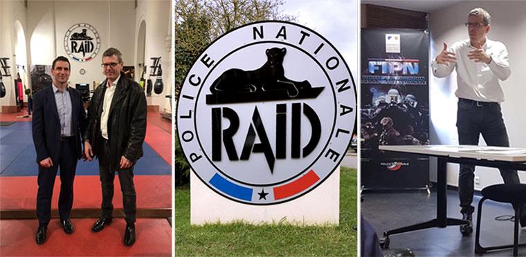 Conférence au RAID sur la Légitime Défense Opérationnelle