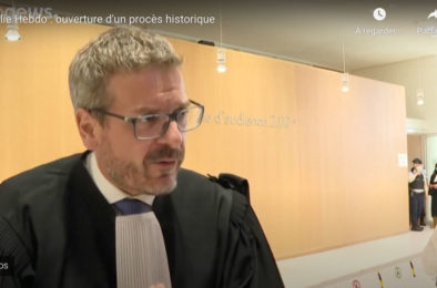 """EuroNews : """"Charlie Hebdo et Hyper Cacher : ouverture d'un procès historique"""""""