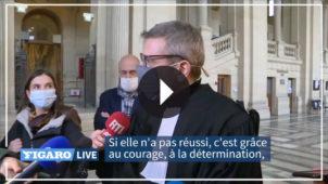 Interview de Maître Thibault de Montbrial, avocat de 5 passagers (3 américains et 2 français)  à l'ouverture du procès de l'attentat du Thalys