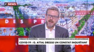 Thibault de Montbrial: «Il y a une dimension sanitaire de sécurité intérieure» | CNEWS