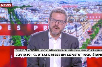 Cnews interview de Thibault de Montbrial